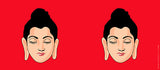 Mugs, Buddha Red Mug, - PosterGully - 3
