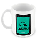Mugs, Ding In The Universe Steve Jobs Mug, - PosterGully - 2