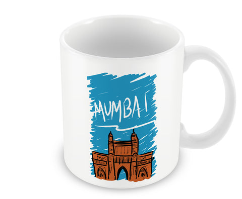 Mugs, Mumbai Paint Mug, - PosterGully - 1