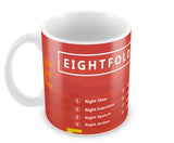 Mugs, Eightfold Path Buddha Mug, - PosterGully - 1