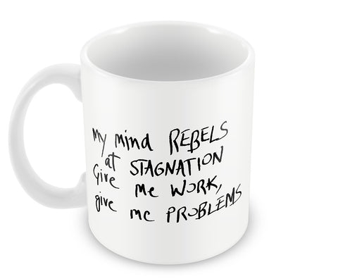 Mugs, Mind Rebels Sherlock Holmes Quote Mug, - PosterGully - 1