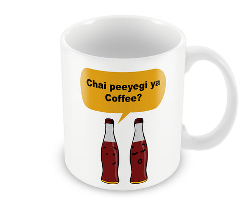 Mugs, Chai Peeyegi ya Coffee Mug, - PosterGully - 1