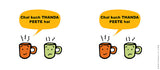 Mugs, Thanda Peete Hai Mug, - PosterGully - 3