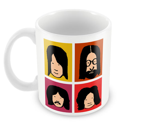 Mugs, Lala Beatles Mug, - PosterGully - 1