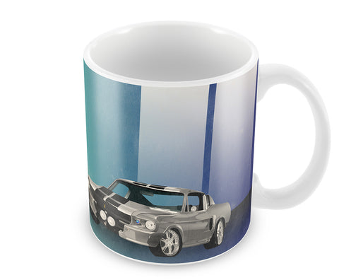 Mugs, Auto Race Mug, - PosterGully - 1