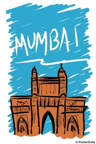 Wall Art, Mumbai | Sketch, - PosterGully