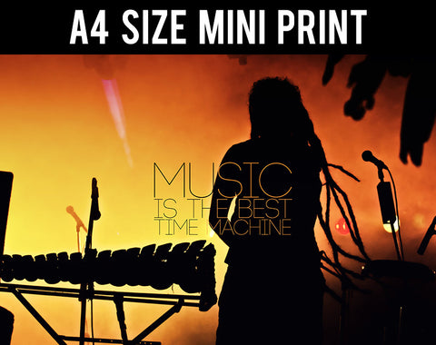 Mini Prints, Music Best Time Machine | Mini Print, - PosterGully