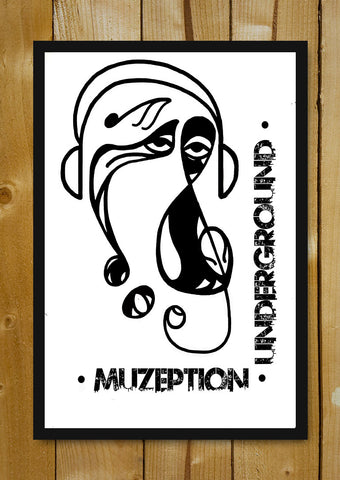 Glass Framed Posters, Muzeption Underground Glass Framed Poster, - PosterGully - 1