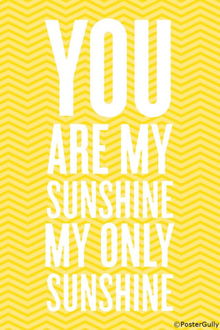 Wall Art, My Only Sunshine, - PosterGully