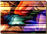 Canvas Art Prints, Blaze Flash Rolled Canvas Art, - PosterGully - 1