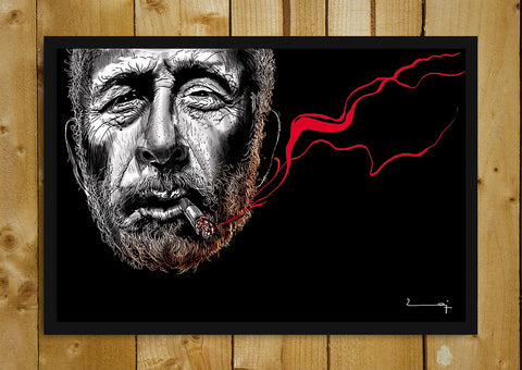 Glass Framed Posters, Naseeruddin Shah Artwork Glass Framed Poster, - PosterGully - 1