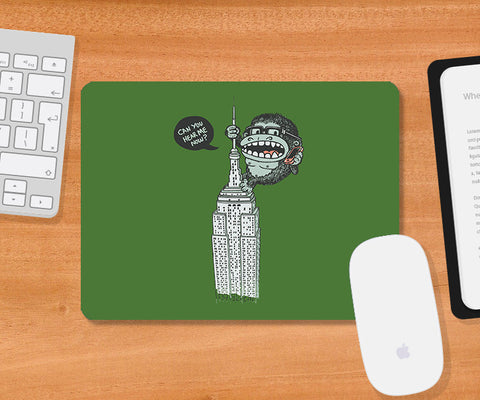 Mousepads, No Signal Green Mousepad | By Captain Kyso, - PosterGully