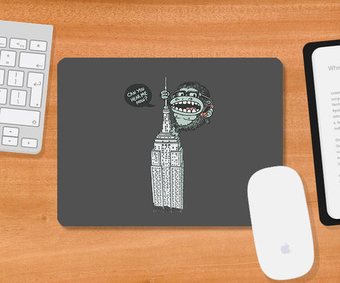 Mousepads, No Signal Grey Mousepad | By Captain Kyso, - PosterGully