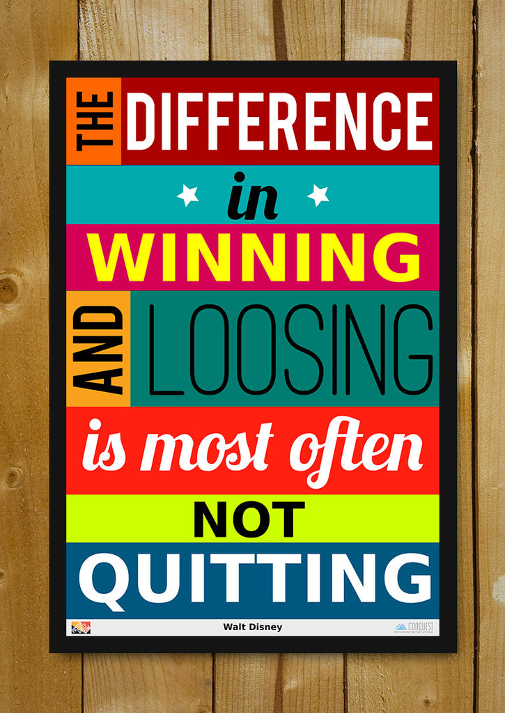 Buy Framed Posters Online Shopping India Not Quitting