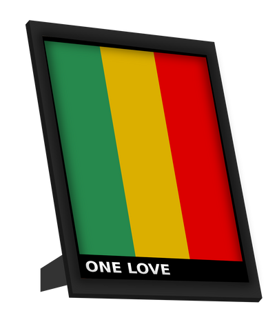 Framed Art, One Love Bob Marley Framed Art, - PosterGully