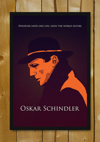 Glass Framed Posters, One Saves Schindler's List Glass Framed Poster, - PosterGully - 1