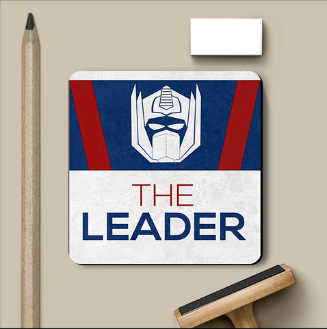 PosterGully Coasters, Optimus Prime Leader Coaster | Artist: Kumaraditya Dash, - PosterGully