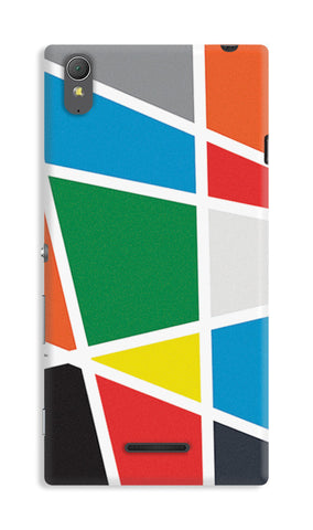 Abstract Colorful Shapes | Sony Xperia T3 Cases