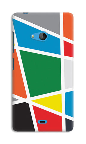 Abstract Colorful Shapes | Nokia Lumia 540 Cases