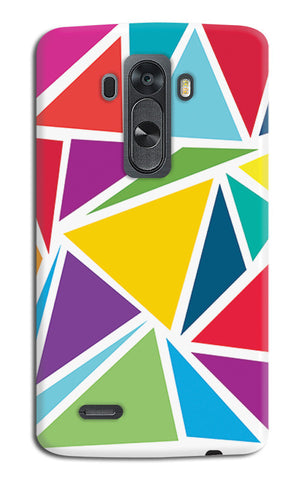 Abstract Colorful Triangles | LG G4 Cases
