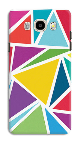 Abstract Colorful Triangles | Samsung Galaxy J5 (2016) Cases