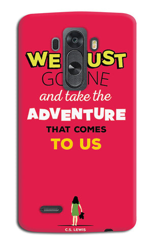 Adventures Narnia Typography | LG G4 Cases