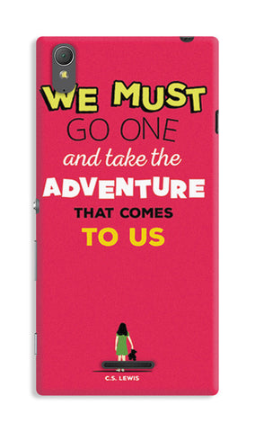 Adventures Narnia Typography | Sony Xperia T3 Cases