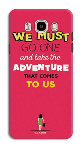 Adventures Narnia Typography | Samsung Galaxy J5 (2016) Cases