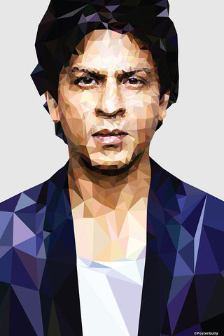 Wall Art, SRK Artwork | Artist: Abhishek Aggarwal, - PosterGully - 3