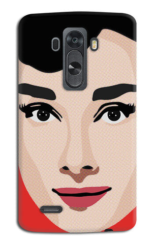 Audrey Hepburn Pop Art | LG G4 Cases