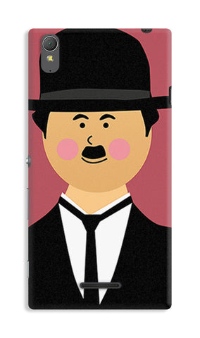 Charlie Chaplin | Sony Xperia T3 Cases
