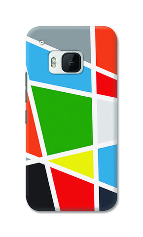 Abstract Colorful Shapes | HTC One M9 Cases