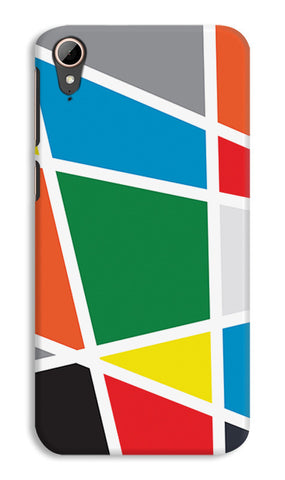 Abstract Colorful Shapes | HTC Desire 828 Cases