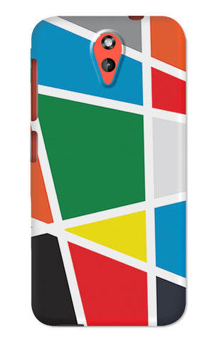 Abstract Colorful Shapes | HTC Desire 620 Cases
