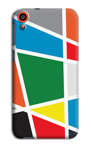 Abstract Colorful Shapes | HTC Desire 820 Cases