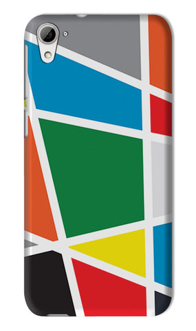 Abstract Colorful Shapes | HTC Desire 826 Cases