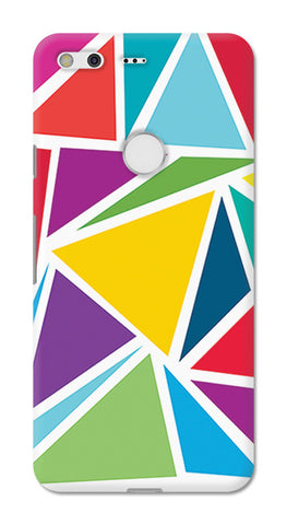 Abstract Colorful Triangles | Google Pixel XL Cases