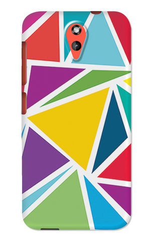 Abstract Colorful Triangles | HTC Desire 620 Cases