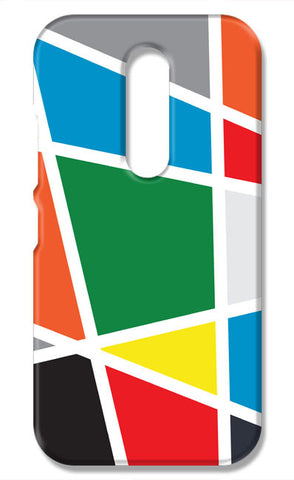 Abstract Colorful Shapes | Moto M Cases