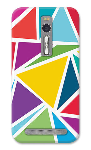 Abstract Colorful Triangles | Asus Zenfone 2 Cases