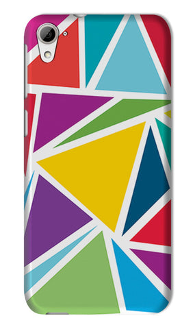 Abstract Colorful Triangles | HTC Desire 826 Cases