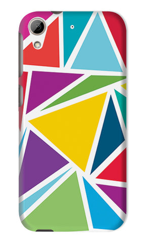 Abstract Colorful Triangles | HTC Desire 626 Cases