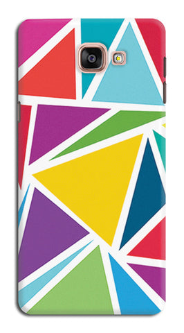 Abstract Colorful Triangles | Samsung Galaxy A9 (2016) Cases