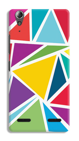 Abstract Colorful Triangles | Lenovo A6000 Cases