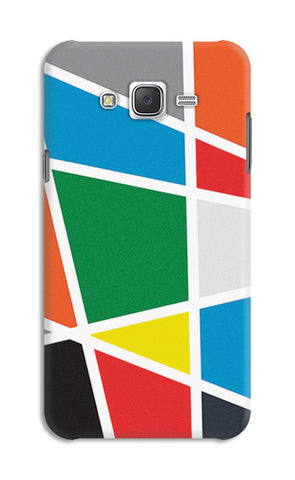 Abstract Colorful Shapes | Samsung Galaxy J7 Cases