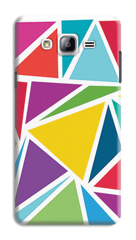 Abstract Colorful Triangles | Samsung Galaxy On5 Cases