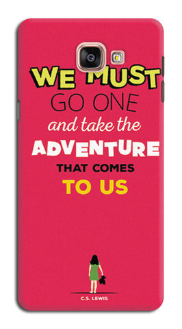 Adventures Narnia Typography | Samsung Galaxy A9 (2016) Cases