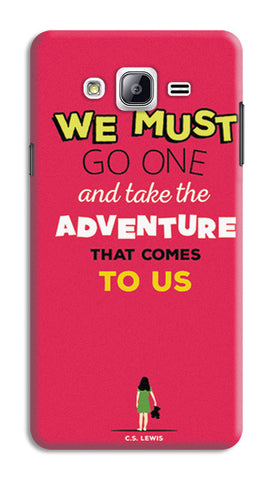 Adventures Narnia Typography | Samsung Galaxy On5 Cases