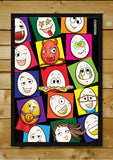 Wall Art, Eggoticons 7 | Artist: Eggoticons, - PosterGully - 2