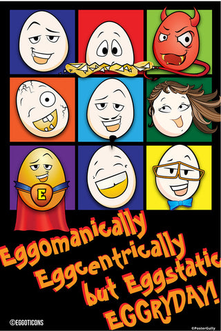 Brand New Designs, Eggoticons 9 | Artist: Eggoticons, - PosterGully - 1